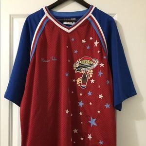RARE FUBU Harlem Globetrotters sample jersey